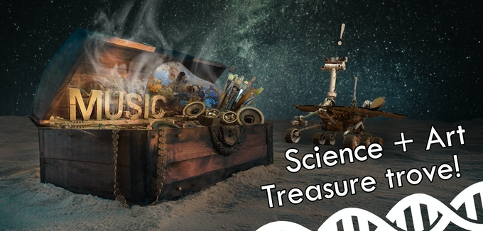 $150: Massive Science and Art treasure trove!