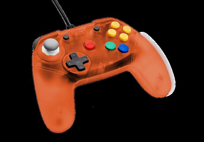 retro fighters next gen n64 controller transparent colors by retro