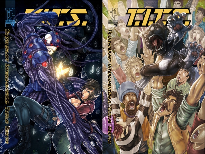 T.I.T.S. #4 and #5 COVERS