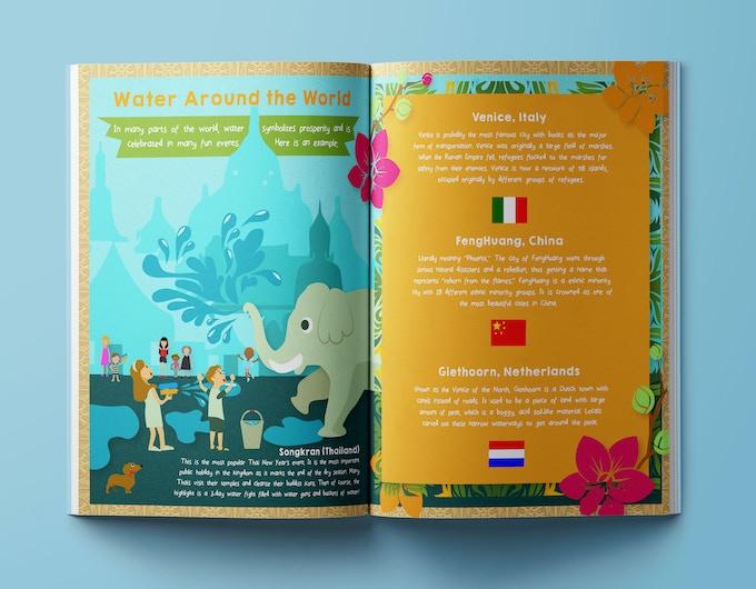 Sample World Awareness Unit - Water Around the World