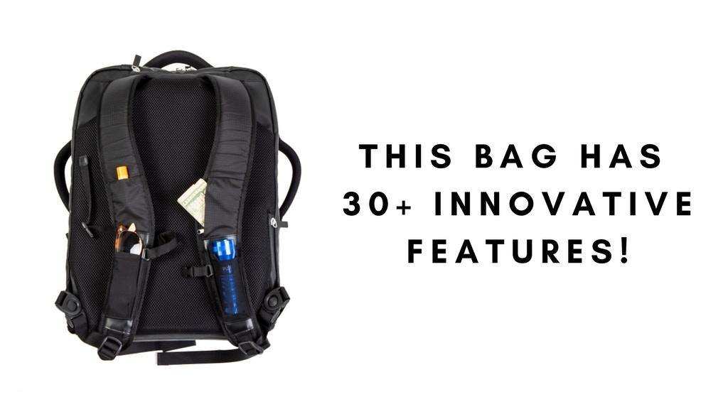 Weekend Warrior Bag: Most Dynamic Travel + Adventure Bag