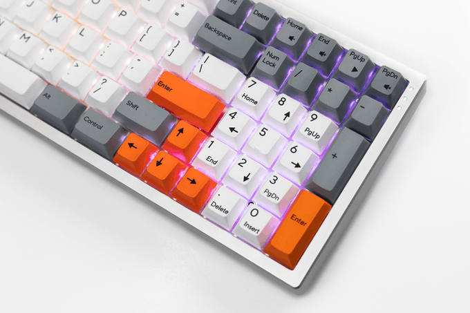Dye Sublimated PBT Keycaps