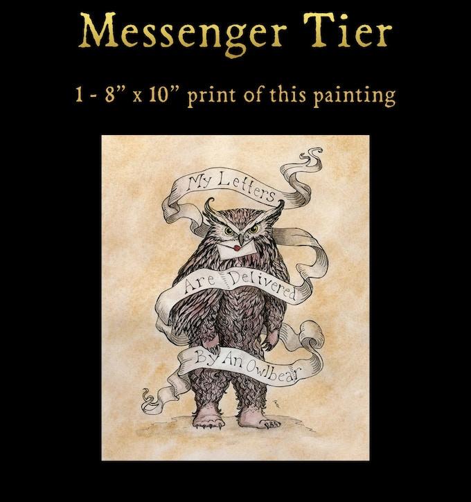 Messenger - Print Tier