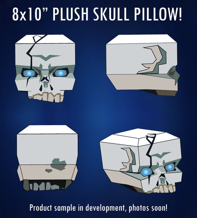 Sleep tight with this possessed plush pillow!
