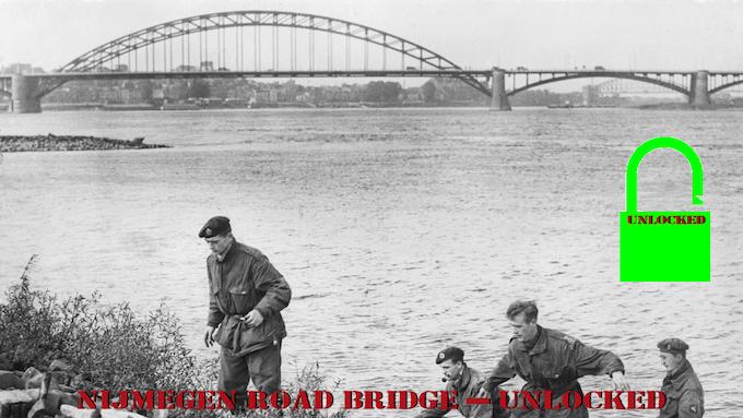 Nijmegen Road Bridge - Unlocked