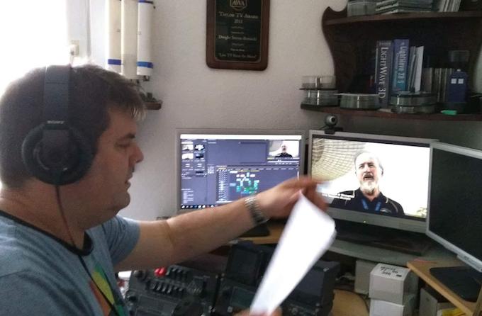 Editing the movie