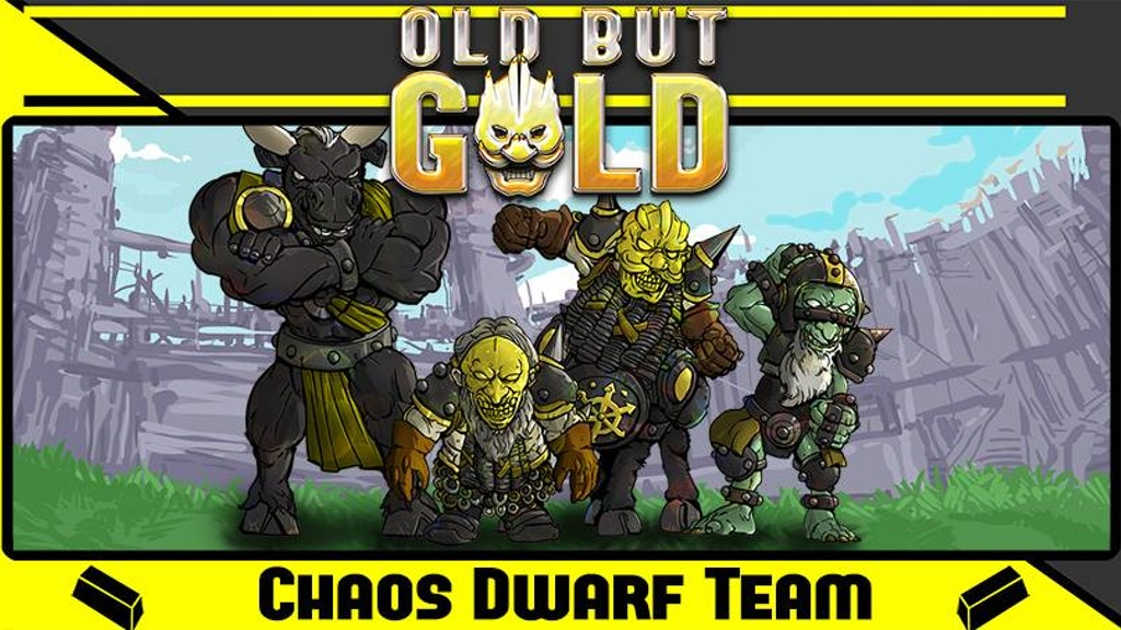 Project image for Old but Gold - Chaos dwarf team for Fantasy Football (Canceled)