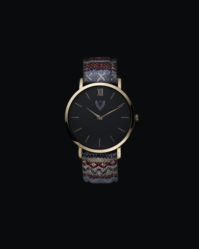Distinct timepieces with Swiss quality, Italian leather and unique fabrics inspired by some of the world's ethnic tribes