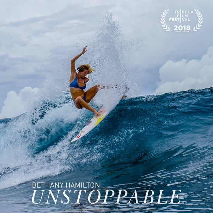 Bethany Hamilton - Surfs Like A Girl by Aaron Lieber