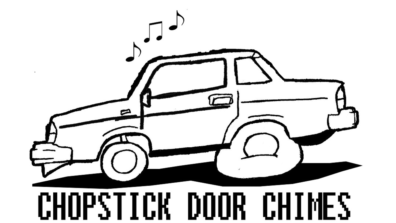 A novelty open door chime for your automobile