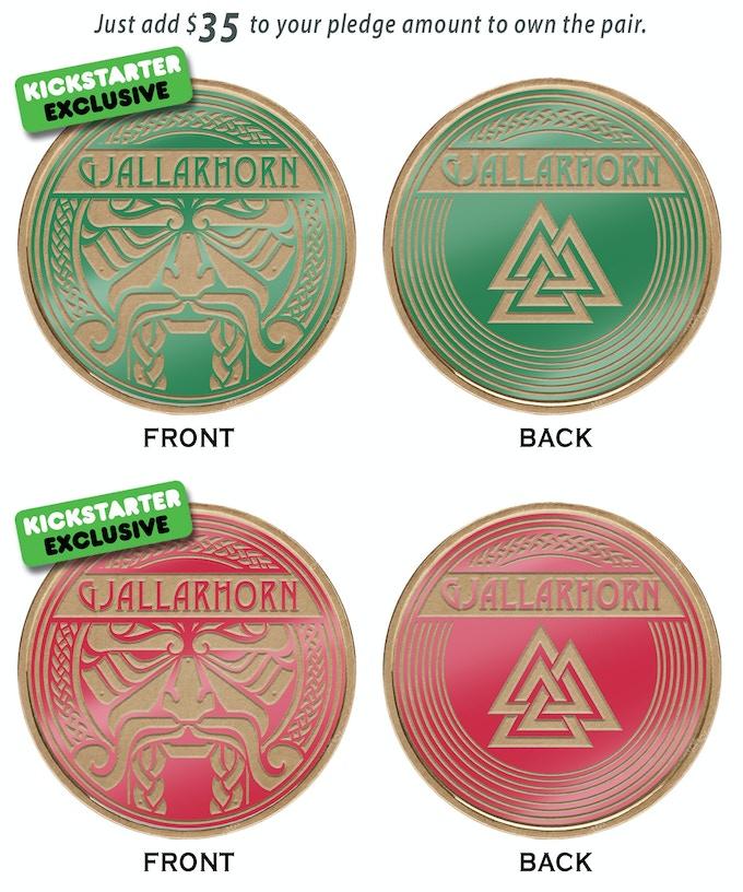 Kickstarter Exclusive Dealer Coins