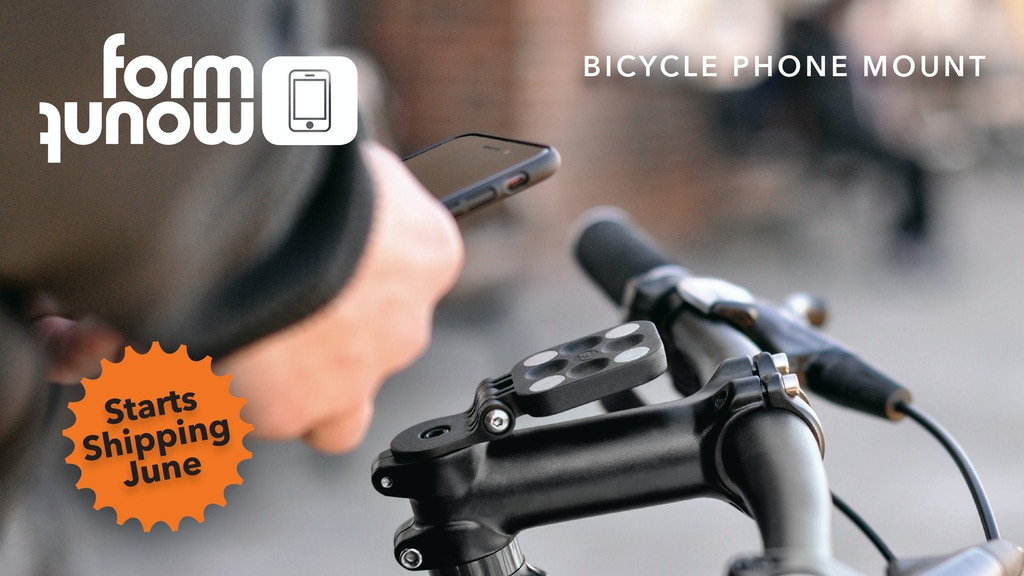 FormMount Phone - Magnetic Smartphone Bike Mount project video thumbnail