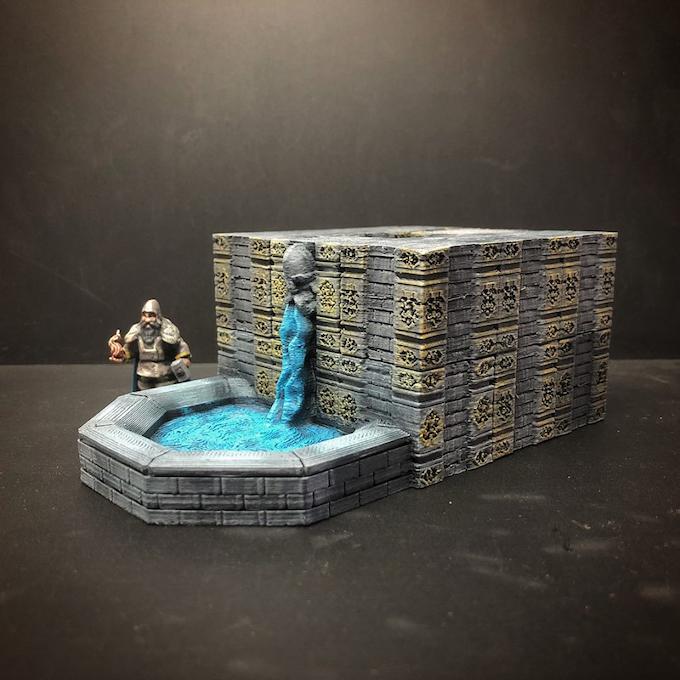Dwarven Fountain.