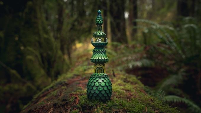 Muju Forest Temple Sculpture