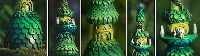 Forest Temple Sculpture Details