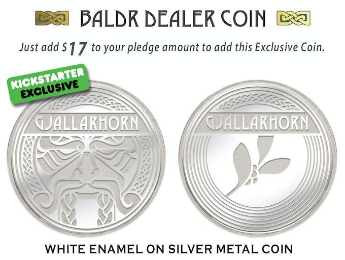 Exclusive BALDR DEALER COIN