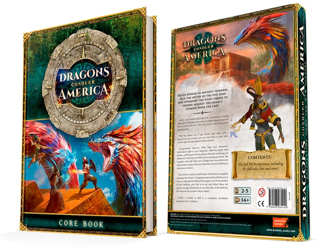 Dragons Conquer America Rpg Core Book By Burning Games Kickstarter