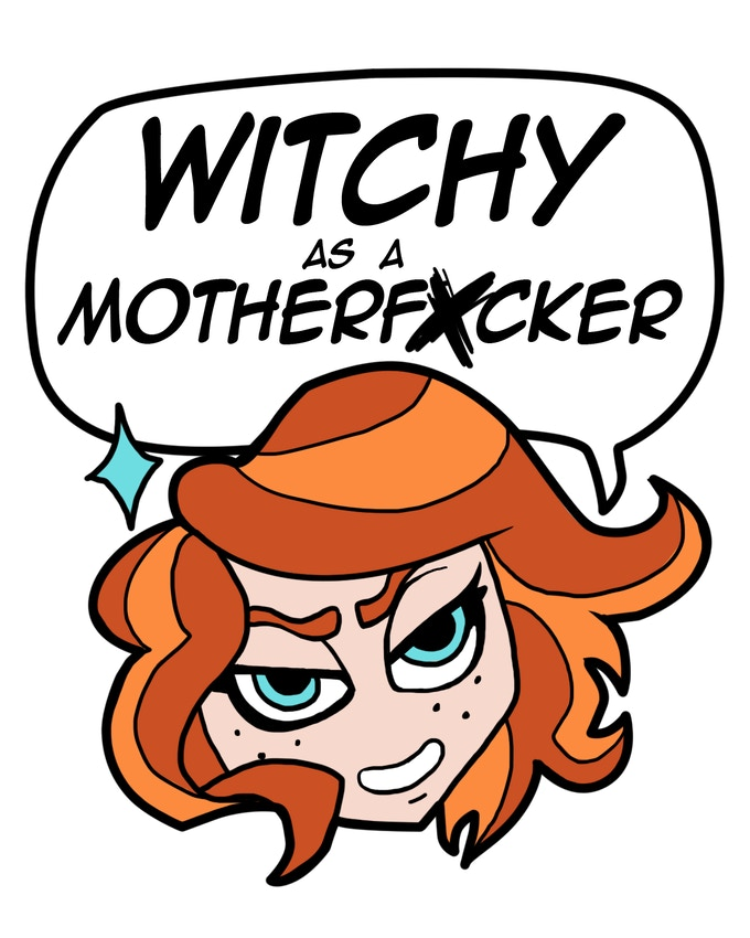 Stretch Goal #1: Witchy Pin designed by EMILY REE!