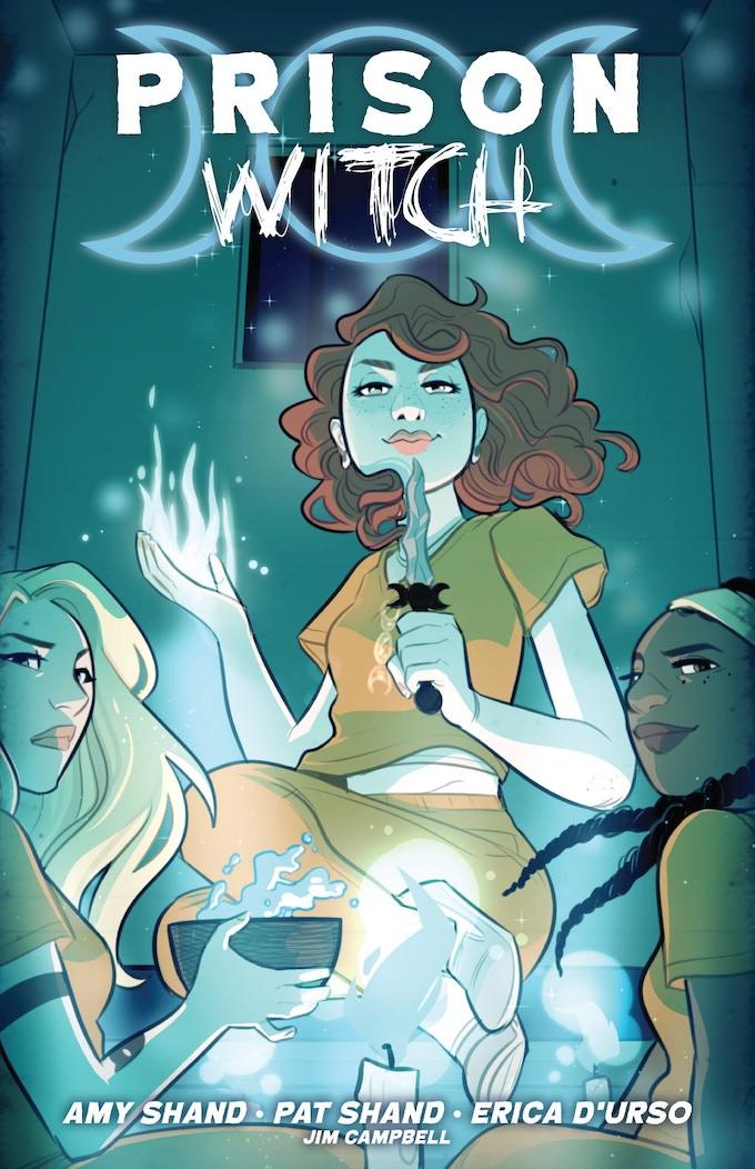 Prison Witch standard cover by Jenn St-Onge (Bingo Love)