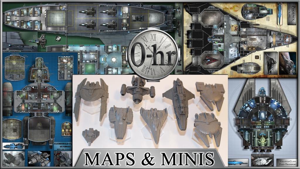 0-hr: Starship Maps & Miniatures project video thumbnail