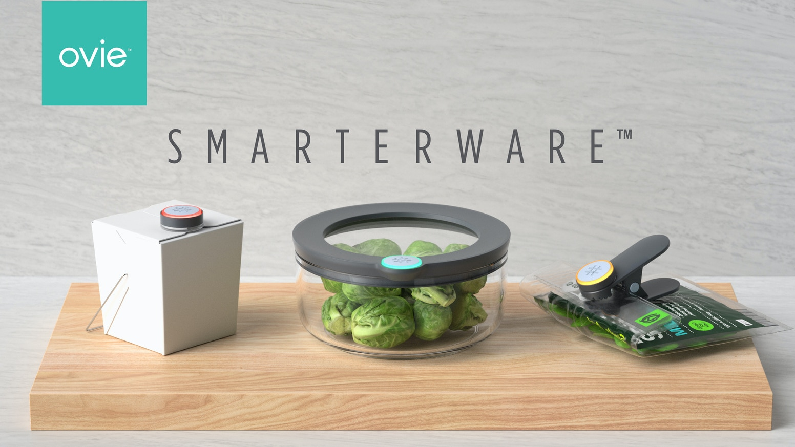 Ovie plus Amazon Alexa make it easy for you to keep track of what's in your fridge and waste less food.