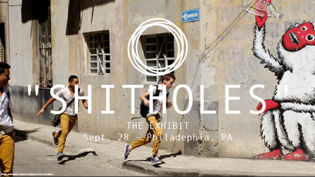 """""""Shitholes"""" The Exhibit: One-Day Art Gallery in Philadelphia project video thumbnail"""