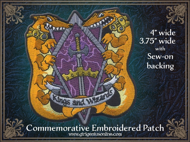 The campaign exclusive patch!