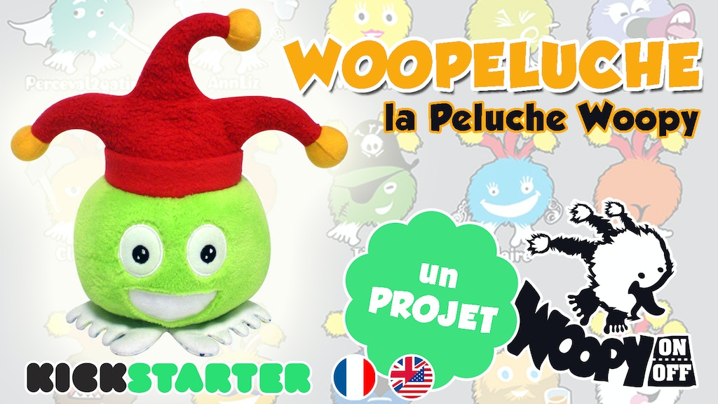 Woopeluche : la peluche WOOPY project video thumbnail