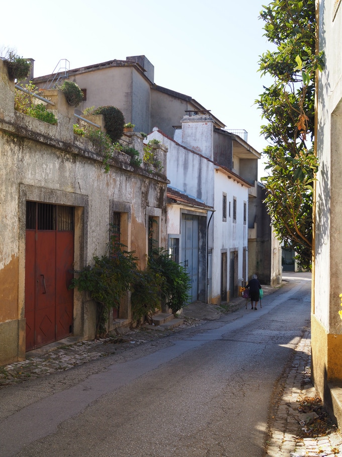 The local town of Serra, Tomar