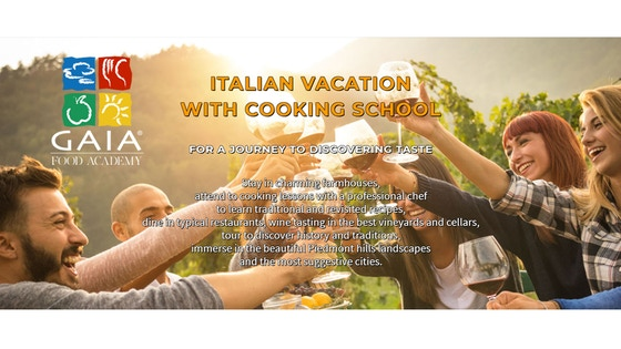 Vacations in Italy with cooking school