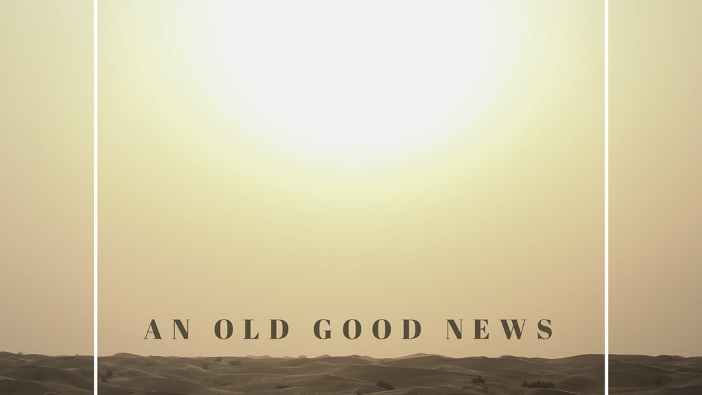 Mathieu Ledoux Debut Album ; An Old Good News project video thumbnail