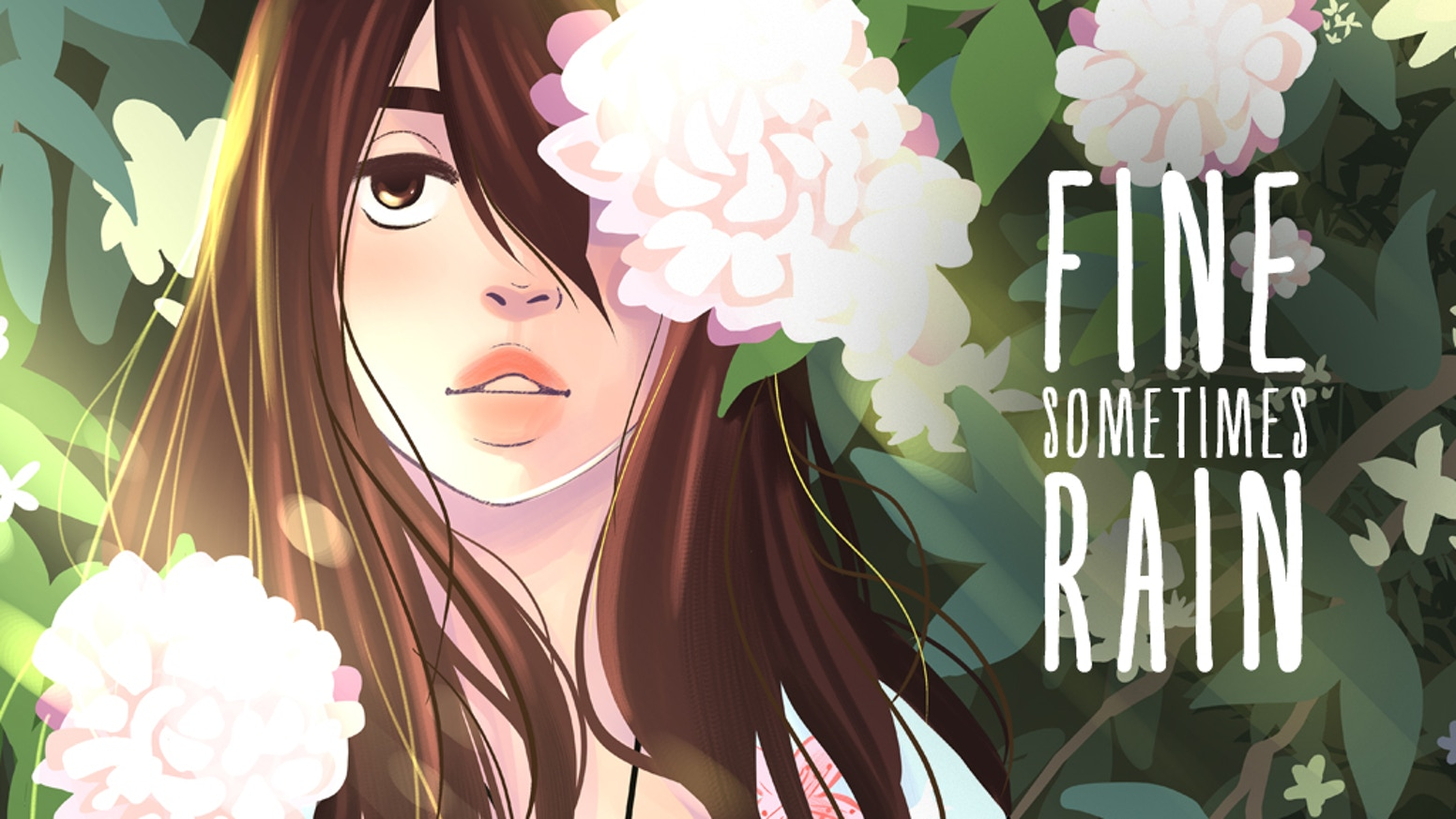 Fine Sometimes Rain is a slice of life webcomic about overcoming depression.
