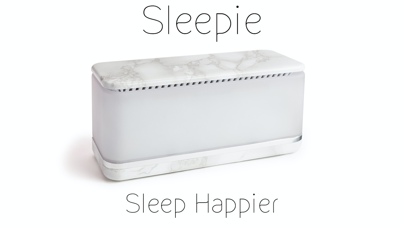 Sleepie uses lights, smells, sounds, and science to give you the best night's sleep you've ever had.