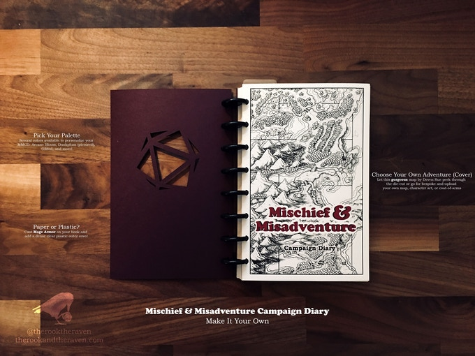 Mischief & Misadventure Campaign Diary (for Players)