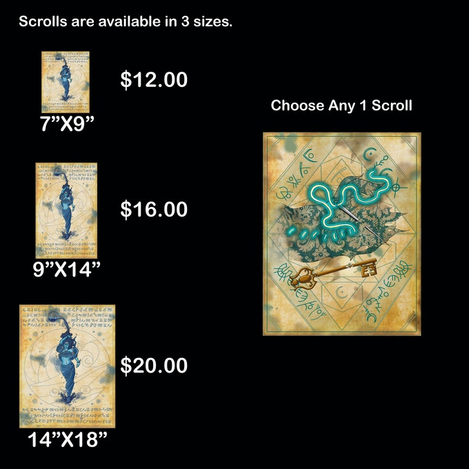 Choose Any 1 Spell Scroll