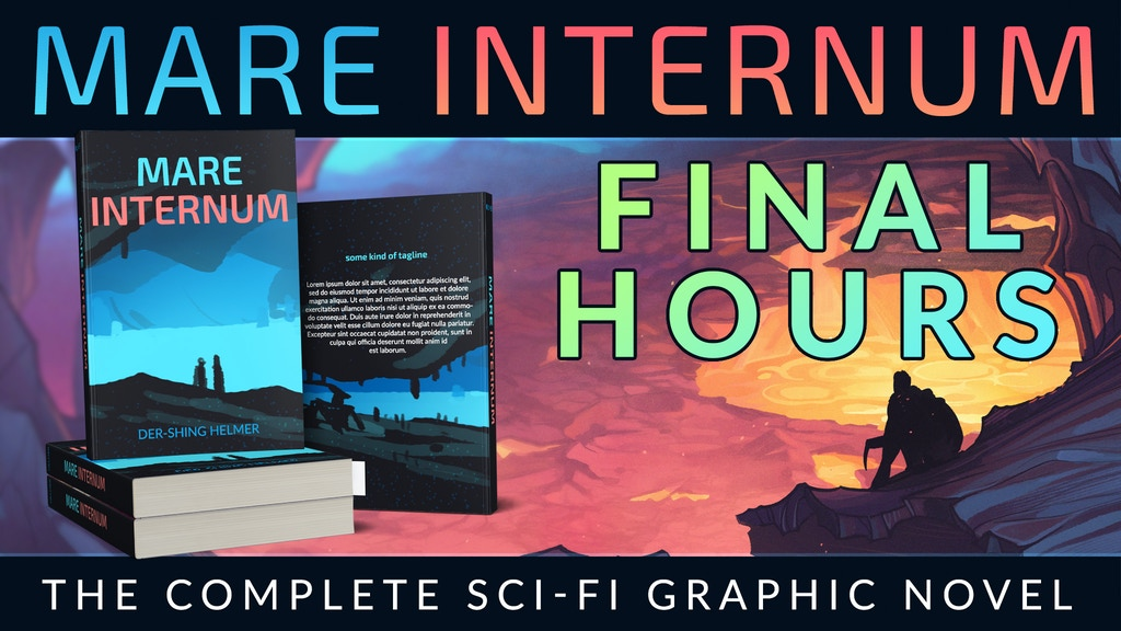 MARE INTERNUM: the sci-fi graphic novel project video thumbnail