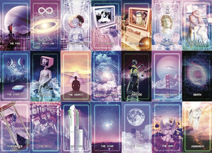 Tarotwave - An Aesthetic Inspired Tarot Deck by McKenna — Kickstarter