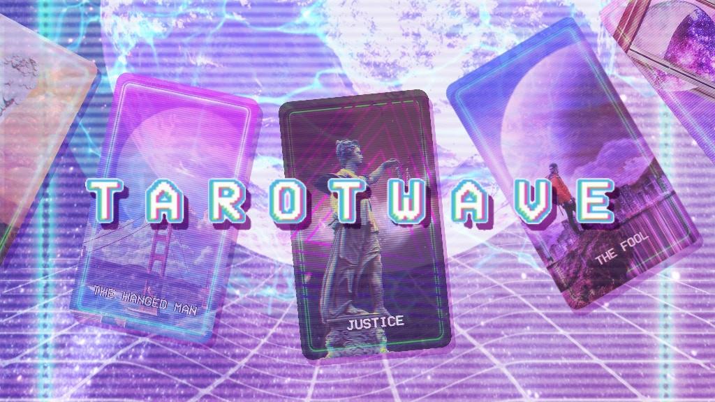 Tarotwave An Aesthetic Inspired Tarot Deck By Mckenna