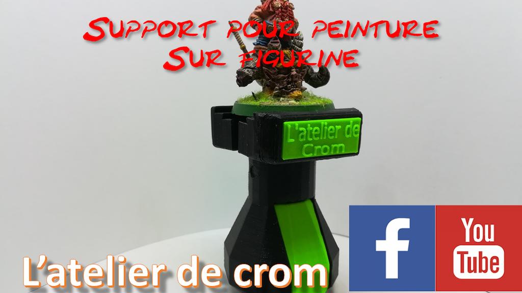 Support de peinture pour figurine project video thumbnail