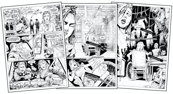 'Extended Ties' - page samples