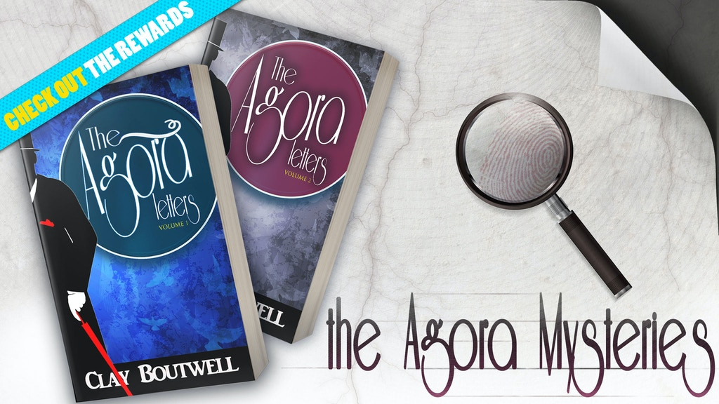 The Agora Letters: Historical Fiction & Mystery Novels project video thumbnail