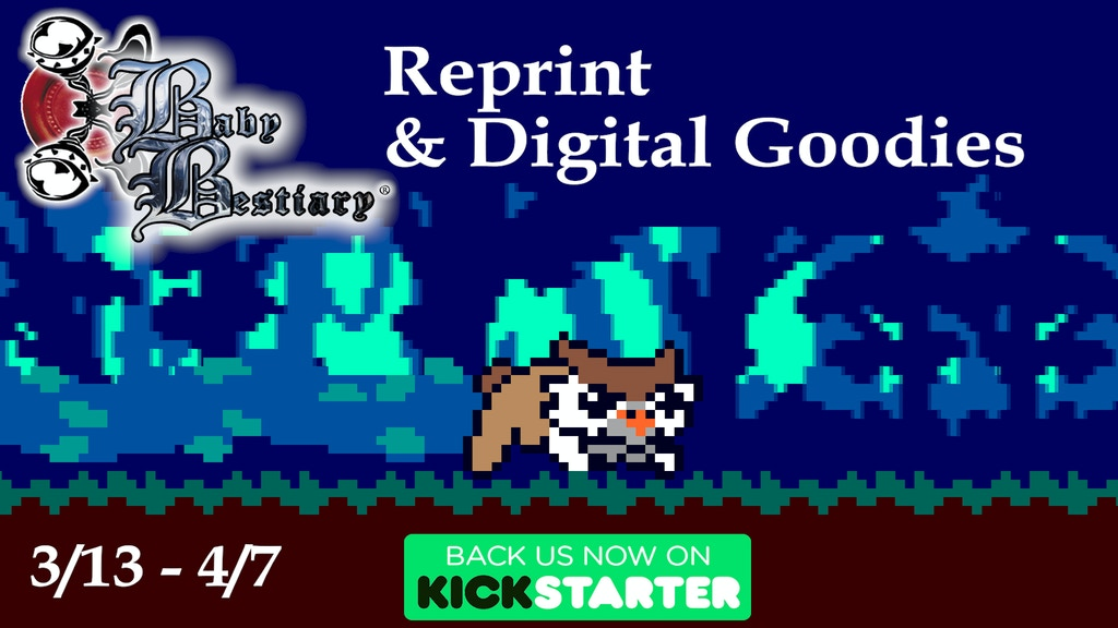 Baby Bestiary: Reprint + Digital Goodies project video thumbnail
