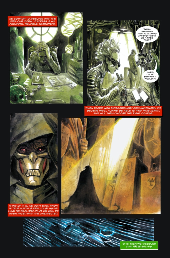 The Black Suit of Death #2 page 3