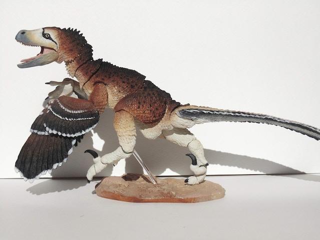 Custom raptor by Jennifer Mellor