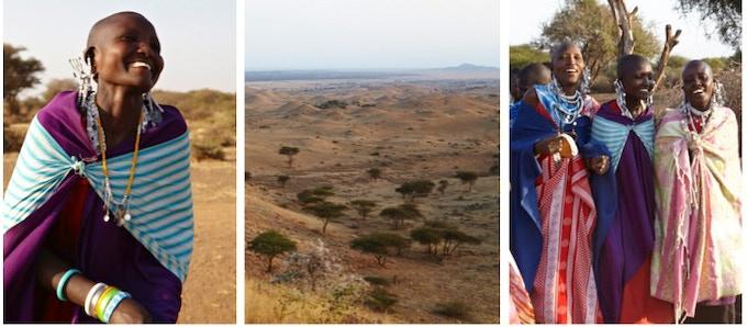 Maasai artisans who work for ALAMA. Photos by Sarah Staiger