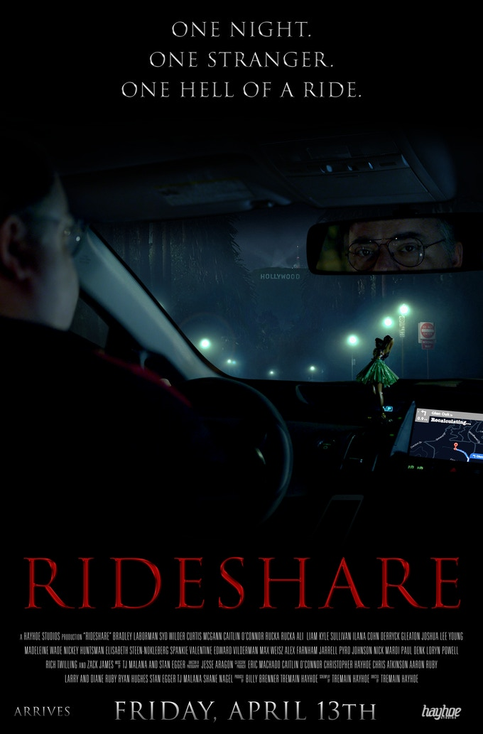 RIDESHARE movie finishing funds! by Hayhoe Studios — Kickstarter