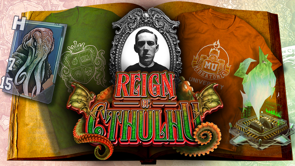 Reign of Cthulhu: A Lovecraft inspired Augmented Reality RPG project video thumbnail