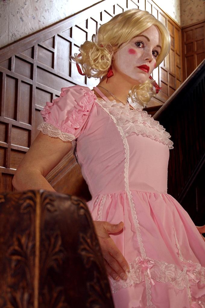 Ellie Church stars as Mary in 'The Bad Man'