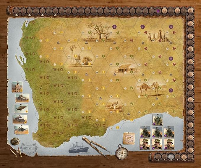 AuZtralia - the new map!