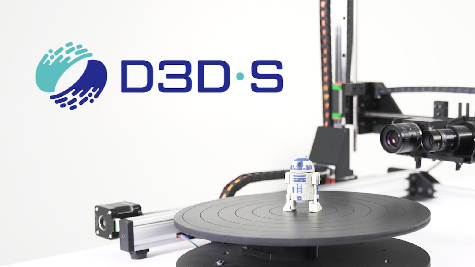 D3D-s: High-quality desktop 3D scanner. by D3D-s — Kickstarter